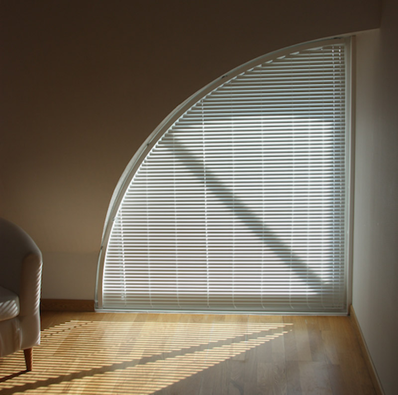 Shaped Windows Mulberry Blinds