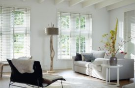 Hunter Douglas White Wood 3