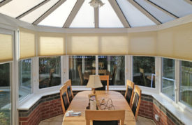 Watermark - Conservatory Duette Blinds - Cream 3