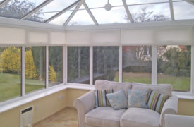 Watermark - Conservatory Roller Blinds - Cream 1