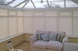 Watermark - Conservatory Roller Blinds - Cream 2