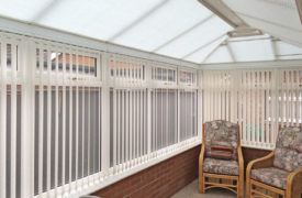 Watermark - Conservatory Roof Duette - Cream 1