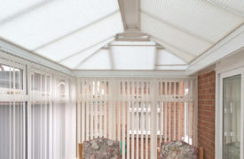 Watermark - Conservatory Roof Duette - Cream 2