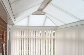 Watermark - Conservatory Roof Duette - Cream 3