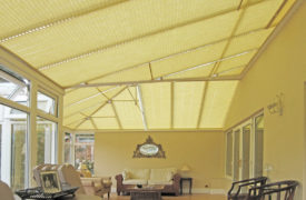 Watermark - Conservatory Roof Plisse - Cream 3