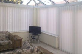 Watermark - Conservatory Vertical Blinds - Cream 1