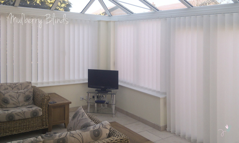 Conservatory Blinds Stokesley Middlesbrough Mulberry Blinds